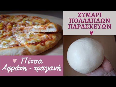 Κοπανιστό ζυμάρι πολλαπλών χρήσεων - πίτσα | evicita.gr