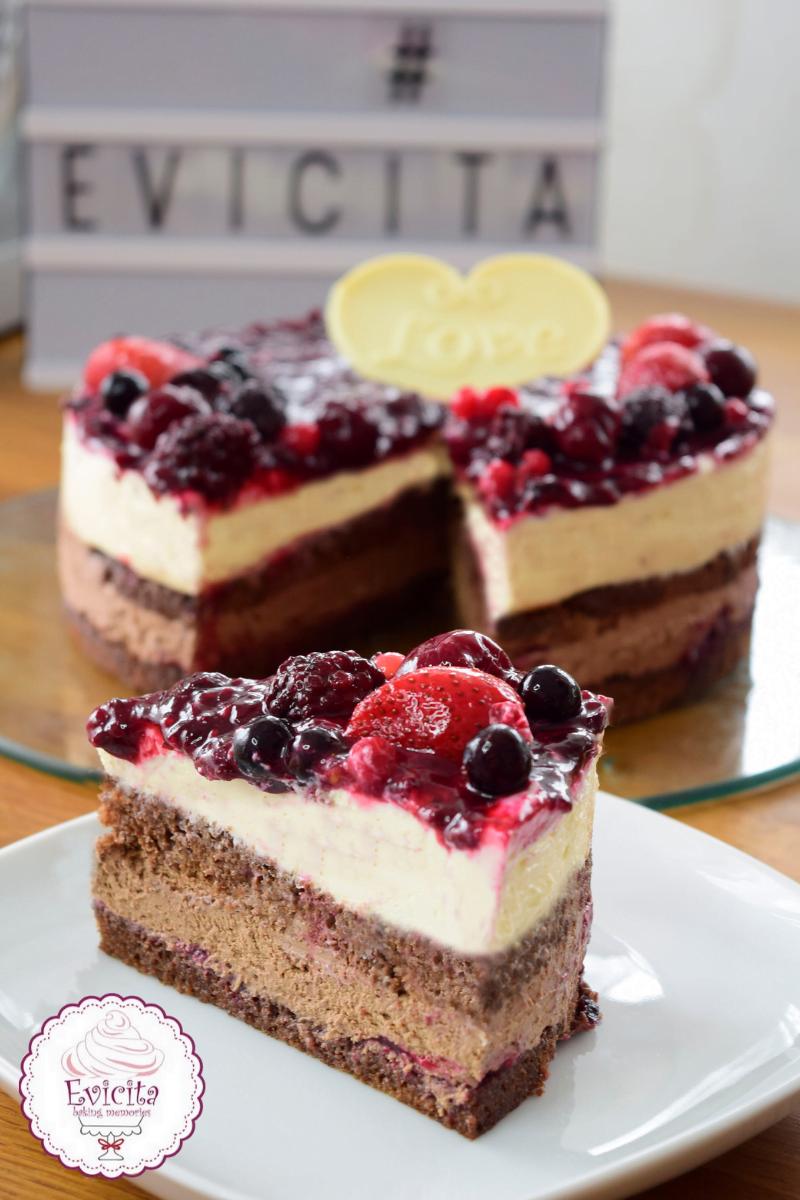 τούρτα αγίου βαλεντίνου